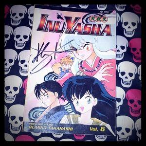SIGNED Copy of Inuyasha Vol. 6 Manga!